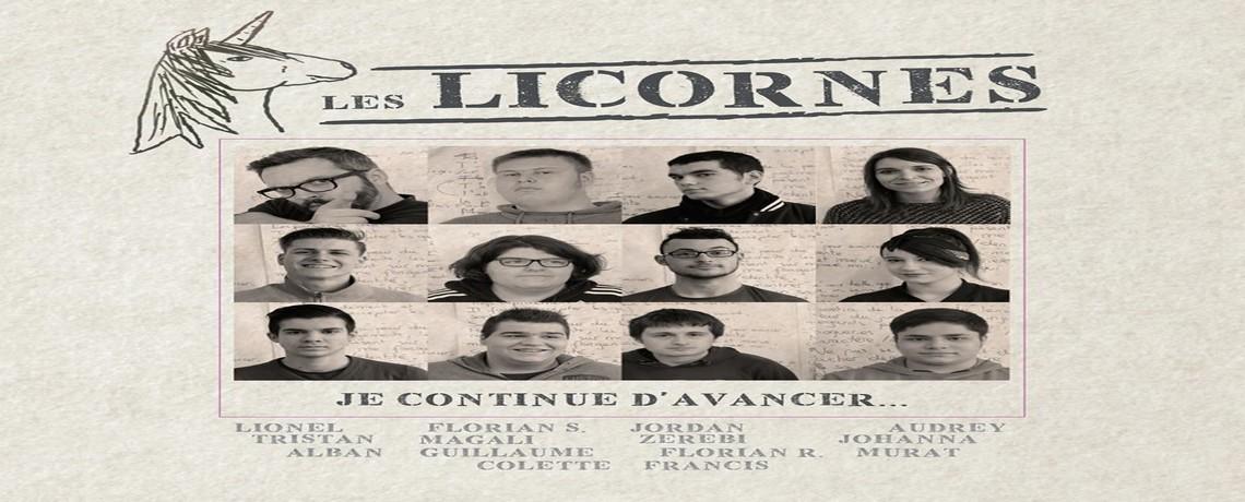 Action Perdus de vue : Les Licornes