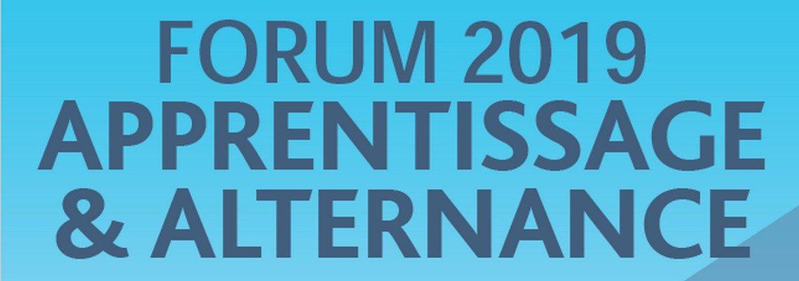 Forum apprentissage et alternance 2019